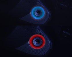 画像1: 200系ハイエース LEDセキュリティキーリングキット ホワイト/レッド