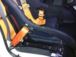 画像1: サンバートラック TT# フルバケ用 シートレール 運転席側